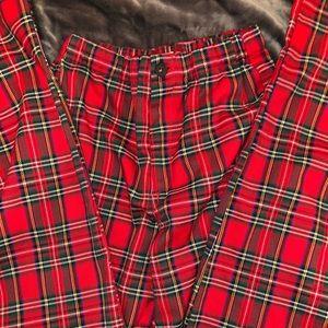 Brandy plaid pants!